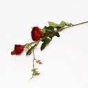 Ветка розы 65см