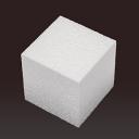 Куб из пенопласта  H=10см