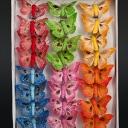 Бабочка на прищепке 5см (24шт)
