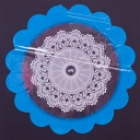 Салфетка 60см с цветным рисунком
