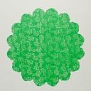 Салфетка 60см тонированная с рисунком