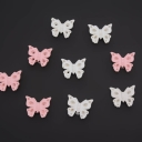 Бабочки на липучке  (9шт)