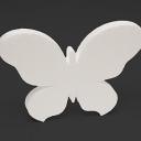 Бабочка из пенопласта 24см