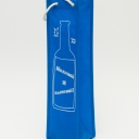 Сумка тканевая под бутылку 37см/9см