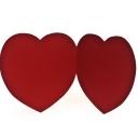 Сердца бумажные Т