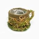 Кашпо Чашка трава
