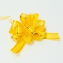 Бант-шар 30мм с золотой полосой